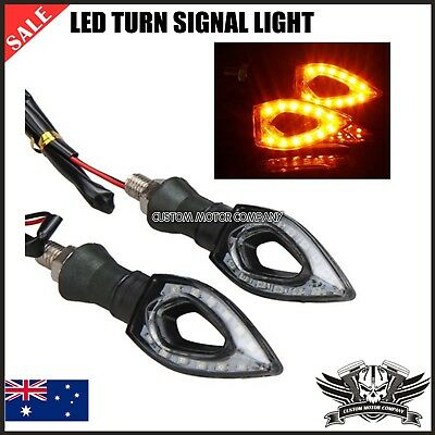 4X LED Turn Signal Light Carbon Indicators 4HYOSUNG GT 650 R MMC S Nake Bike