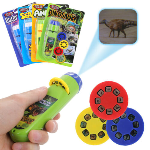 Multi Function Early Childhood Education Projector Flashlight Projection Lamp