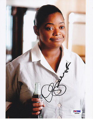 Movies Punctual Octavia Spencer Signed 8x10 Photo Minny The Help Oscar Winner Psa/dna
