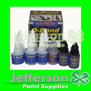 Q-Bond Plastic Repair System /Bonding Panel Glue Repair   eBay