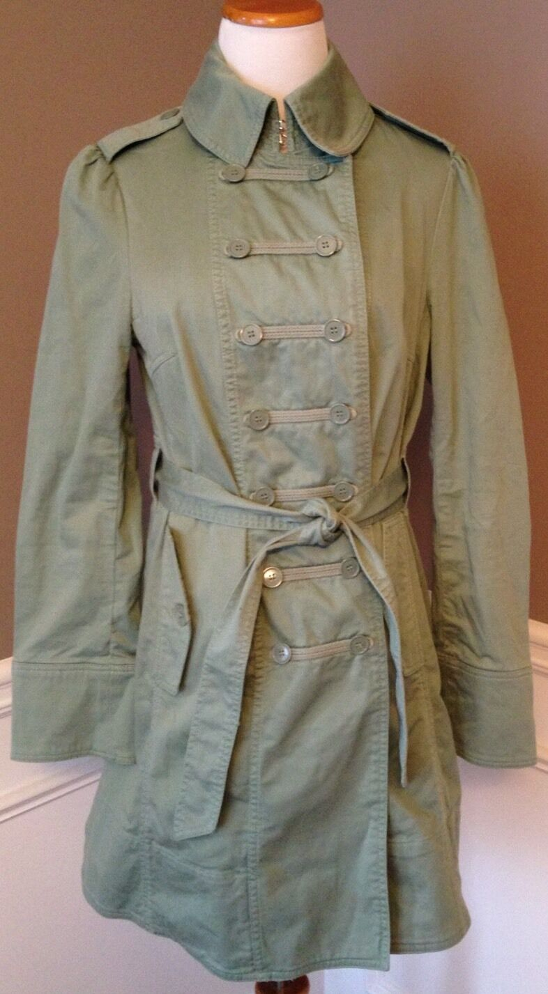 Marc Jacobs 4 Light Olive Green Military Style Be… - image 1