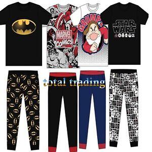 Mens-Pyjamas-DC-Marvel-Comics-Dwarf-Star-Wars-BATMAN-Pjs-Pajamas-CHARACTER