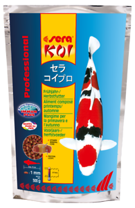 Sera-Koi-Professional-Fruehjahr-Herbstfutter-500g-Koifutter-Futter-MHD-03-19