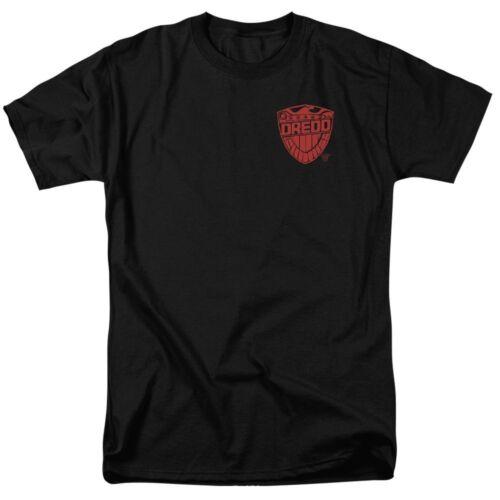 Judge Dredd Badge T-Shirt Sizes S-3X NEW