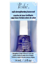 POSHE Nail Strengthening Basecoat 0.5 fl oz Promotes Flexibility, Fast-Drying