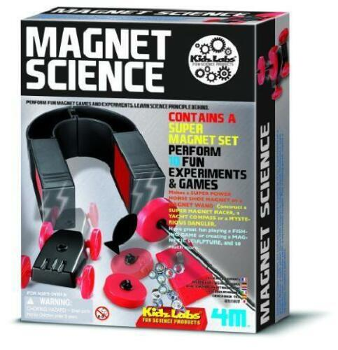 Magnet Science Kit For Kids Educational Toys Project Experiment Girls Boys Kids
