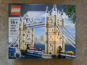 Factory Sealed Box **NEW** LEGO Creator Tower Bridge 10214