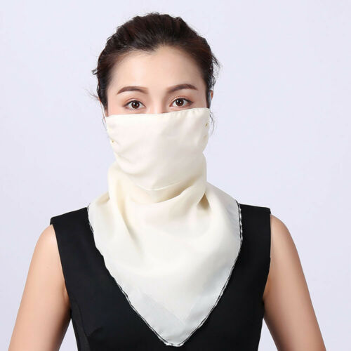 Face Shawl Cover Scarf Sun UV Protection Veil 1//5pcs Dust-proof Outdoor