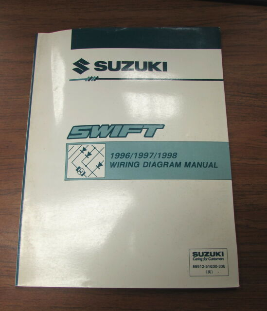 1996 1997 1998 Suzuki Swift Wiring Diagram Service