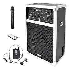 Karaoke Wireless PA Sound System Speaker Portable with Mic Audio Music
