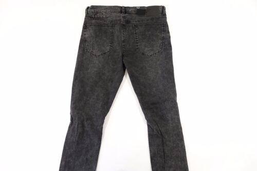 Jeans Rip Faded Blanknyc Grigio Nuovo 014 Fit Nero Uomo Slim Nwt 29 Distressed Knee q85xf5