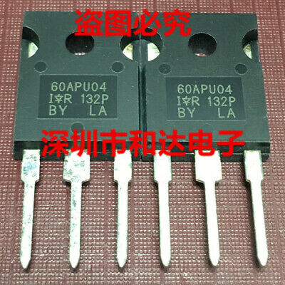 5 x 60APU04 Ultrafast Soft Recovery Diode TO-247 400V 60A