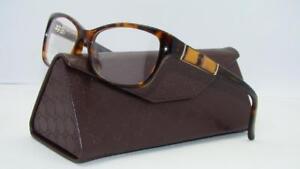 4ff01c95f2 New GUCCI GG 3673 WR9 Havana Frames Glasses Eyeglasses Size ...