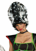 Dreamgirl Light-up Black And White Female Frankie Adult Costume Wig