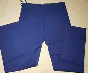 Humour Pantalon S M Bleu 100% Coton Soins Sœur Médecin Op Unisexe Kurtenbach Vet-afficher Le Titre D'origine