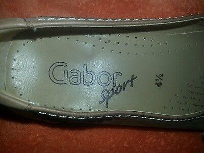 Neue Gabor Sport-Pumps, Gr. 4,5/ 37,5 braun, Damenlederschuhe