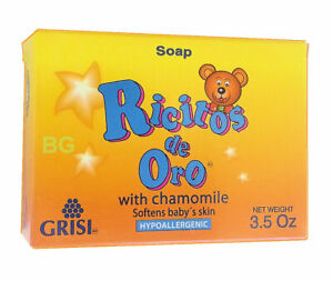 GRISI-CHAMOMILE-BABY-SOAP-SOFT-FOR-BABIES-3-5oz-Hand-Face-MANZANILLA-Jabon-1-Bar