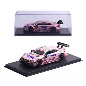 1-43-Mercedes-Benz-AMG-C63-DTM-Racing-Car-Model-Metal-Diecast-Toy-Vehicle-Pink