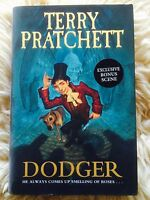 Terry Pratchett (not Discworld) DODGER 1st/1st HB + limited edition bonus scene