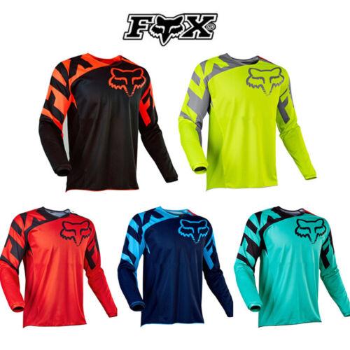 Mens FOX Ranger LS Jersey Long Sleeve Mountain Bike MTB Trail Bicycle Racing Top