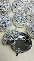12 Wedding Party Favors Silver Trinket Box Fillable Recuerdos De Boda Cajita