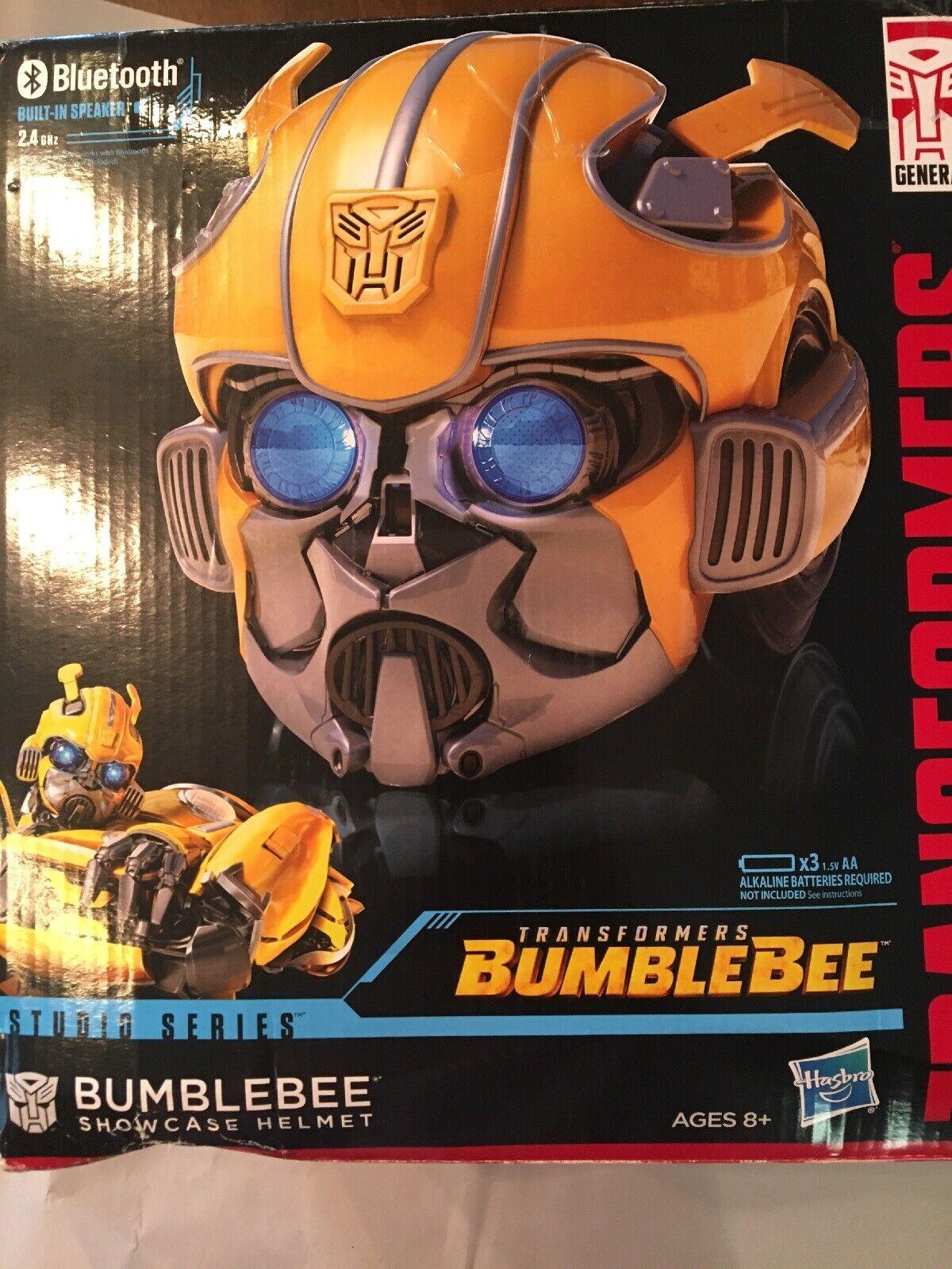 Transformers Bumblebee blutooth Casco de escaparate de la serie Studio