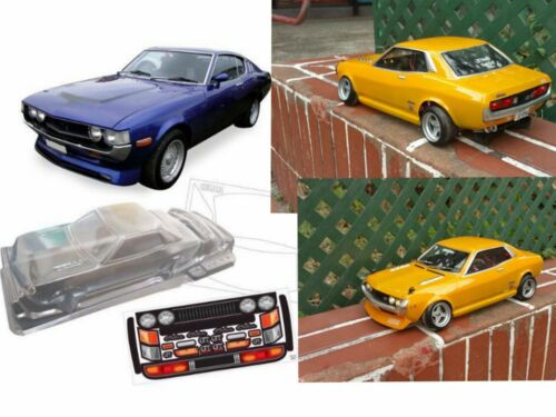 1//10 Clear RC car body Shell Toyota Celica 1600GT 200mm 1:10 On Road W200mm PC