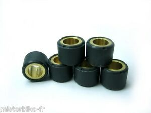 6 galets de variateur Malossi 20X12 11 grammes neuf