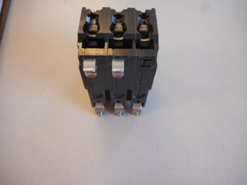 SQUARE D QOB350 50 AMP 3 POLE BOLT IN CIRCUIT BREAKER WHITE NUMBER