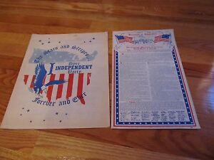 CIRCA-1969-THE-STARS-amp-STRIPES-FOREVER-amp-EVER-DYER-INDEPENDENT-PARTY-BOOKLET