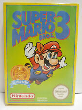SUPER MARIO BROS 3 - NINTENDO NES EUROPEAN RARE CLASSIC SERIE VERSION PAL B