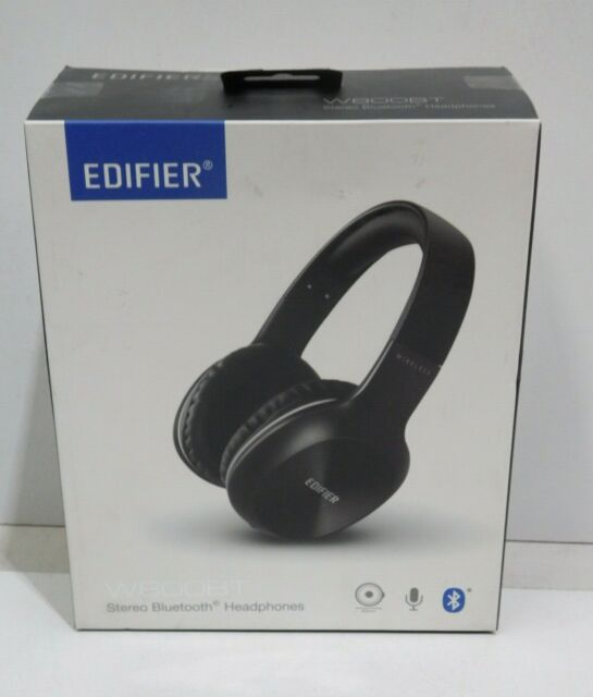 Edifier W800BT Bluetooth Headphones - Over-The-Ear Wireless Headphone - Black