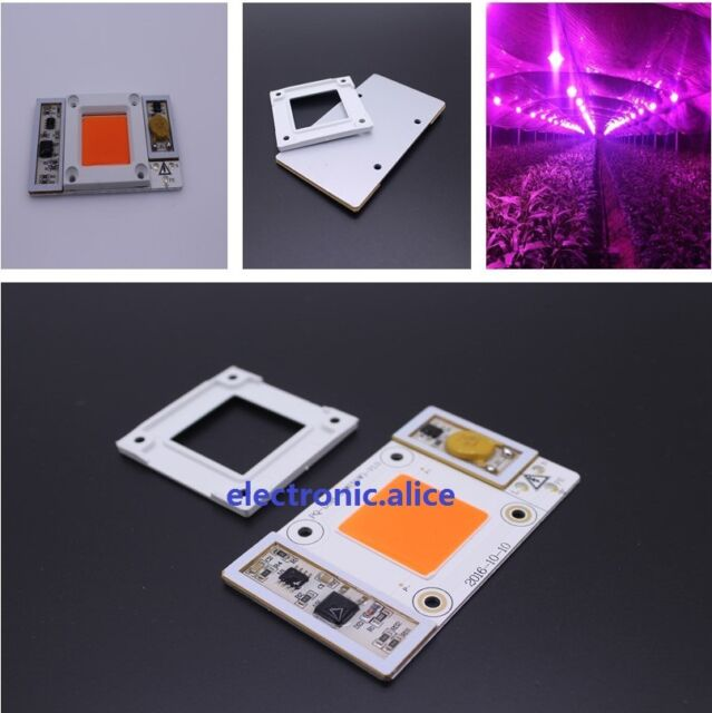 50W 170-265V High Power led chip built-in driver 380NM-840NM Full Spectrum LED