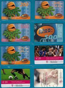 "8x Telefonkarte, TWK, gebraucht, Ladebon ""T-Mobile Klax Max"" (601) - Wien, Österreich - 8x Telefonkarte, TWK, gebraucht, Ladebon ""T-Mobile Klax Max"" (601) - Wien, Österreich"
