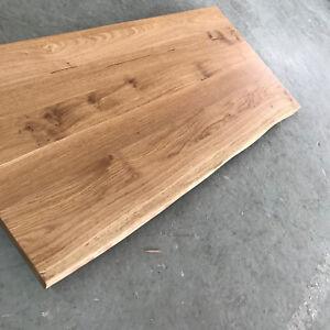 Schon Das Bild Wird Geladen Tischplatte Platte Eiche Massiv Holz NEU Tisch Brett