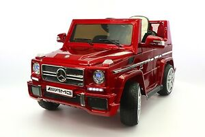 Mercedes-G65-AMG-12V-Kids-Ride-On-Car-with-Parental-Remote-Cherry-Red