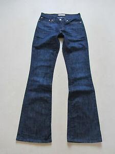 Levi-039-s-529-Bootcut-Jeans-Hose-W-28-L-34-wie-NEU-Dark-Indigo-Stretch-Denim