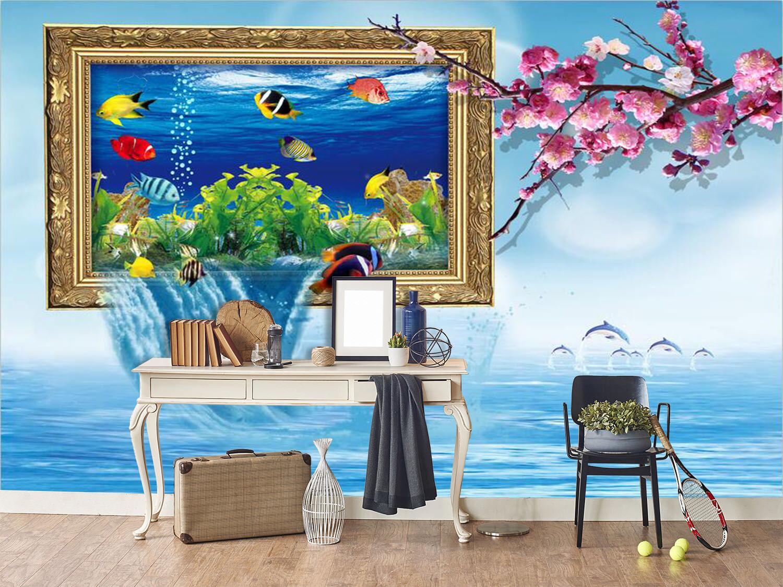 3D 3D 3D Picture Flower 98Wallpaper Mural Wall Print Wall Wallpaper Murals US Carly 610c1a