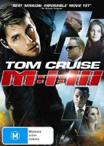 1 of 1 - MISSION IMPOSSIBLE 3 DVD=TOM CRUISE=REGION 4 AUSTRALIAN RELEASE=NEW AND SEALED