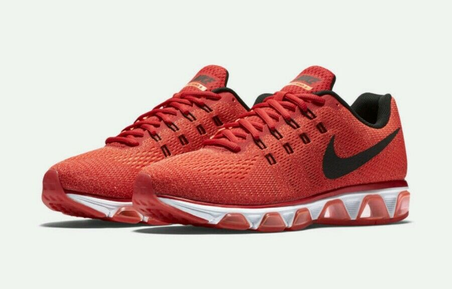 Nike Air Max Tailwind 8 Running Shoes Men's US 10  University Red 805941-600 NEW