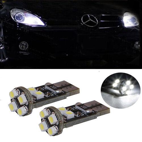2 Birnen LED Weiß leuchten Position Nachtlichter Mercedes SLK R170 R171 R172