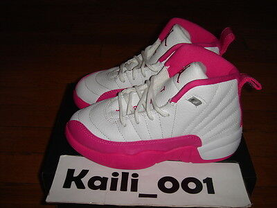 VIVID PINK 510816-109 XII Girls A PS Nike Air Jordan 12 Retro GP