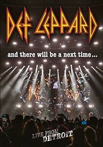 DEF-LEPPARD-AND-THERE-WILL-BE-A-NEXT-TIME-DVD-ALL-REGIONS-NTSC-5-1-NEW