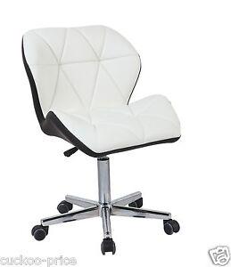 moderne-Uranus-rembourre-Pivot-CUIR-PU-bureau-d-039-ordinateur-Chaise-de-mixe-Color