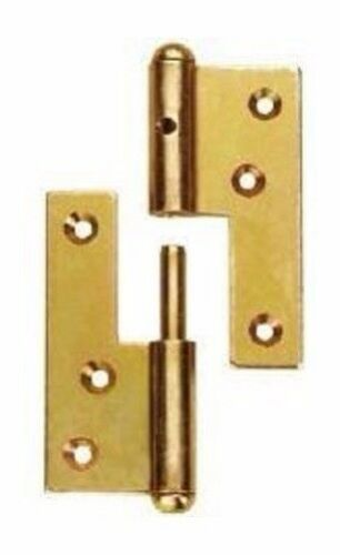 Connex Hamburger-Tür-Aufschraubbänder rechts 160 mm gelb-verzinkt