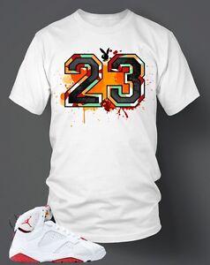 c30e19f00 23 Bunny T-shirt To match Hare Air Retro Jordan Size S-7XL White Pro ...