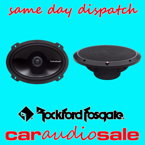 "Rockford Fosgate Punch P1692 6 /""x9/"" 2 vías Coaxial gama completa de van oradores"