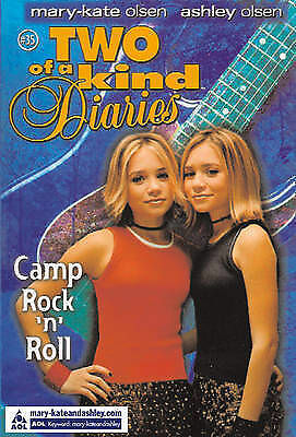 Camp Rock 'n' Roll (Two Of A Kind Diaries, Book 35), Olsen, Ashley, Olsen, Mary-