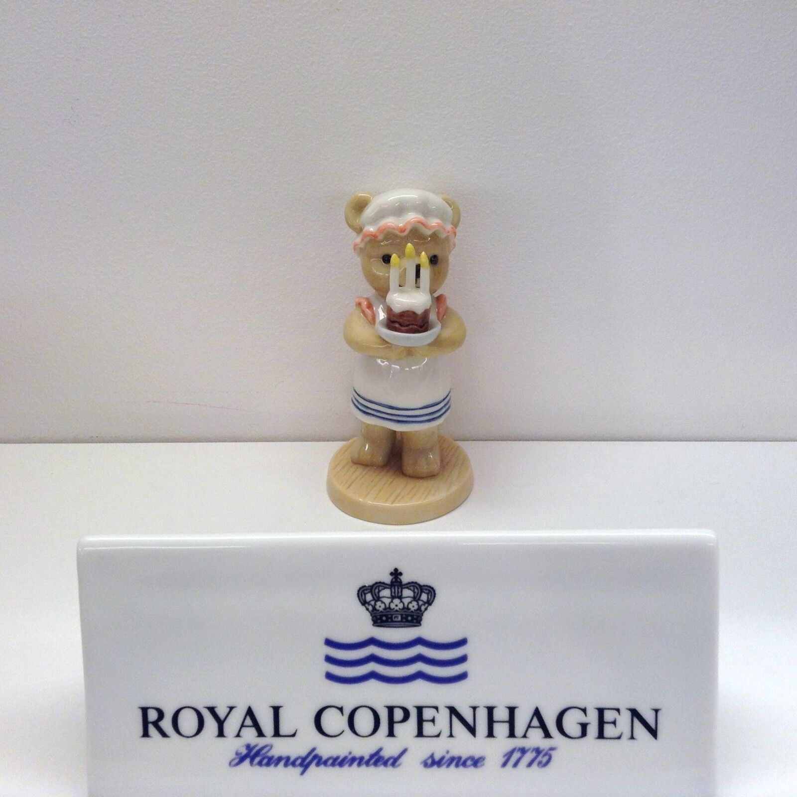 Royal Copenhague Autocollants Victoria 2004 & Annuel Teddy Bear Bing & 2004 Grondahl c760eb