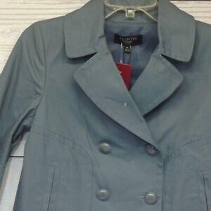 Talbots-Petites-Blzer-Jacket-The-Jackie-Fit-Size-4P-Blue
